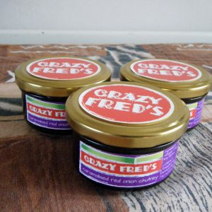 Crazy Fred's Caramelised Red Onion Chutney