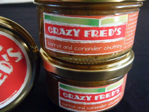 Crazy Fred's Carrot and Coriander Chutney