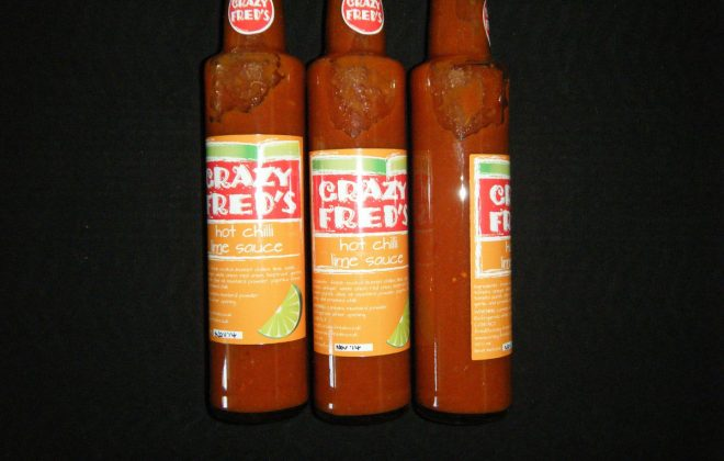Crazy Fred's Hot Chilli Lime Sauce