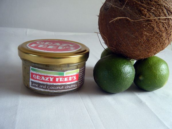 Crazy Fred's Lime and Coconut Chutney