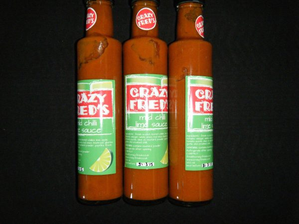 Crazy Fred's Mild Chilli Lime Sauce
