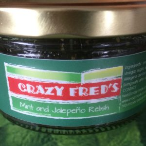 Crazy Fred's Mint and Jalapeno Relish